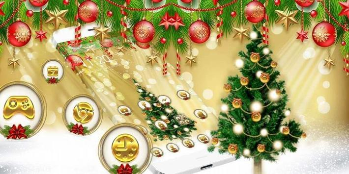 Christmas Gold Theme screenshot 3