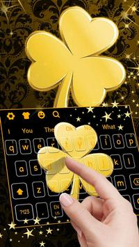 Gold Clover Sports Keyboard poster