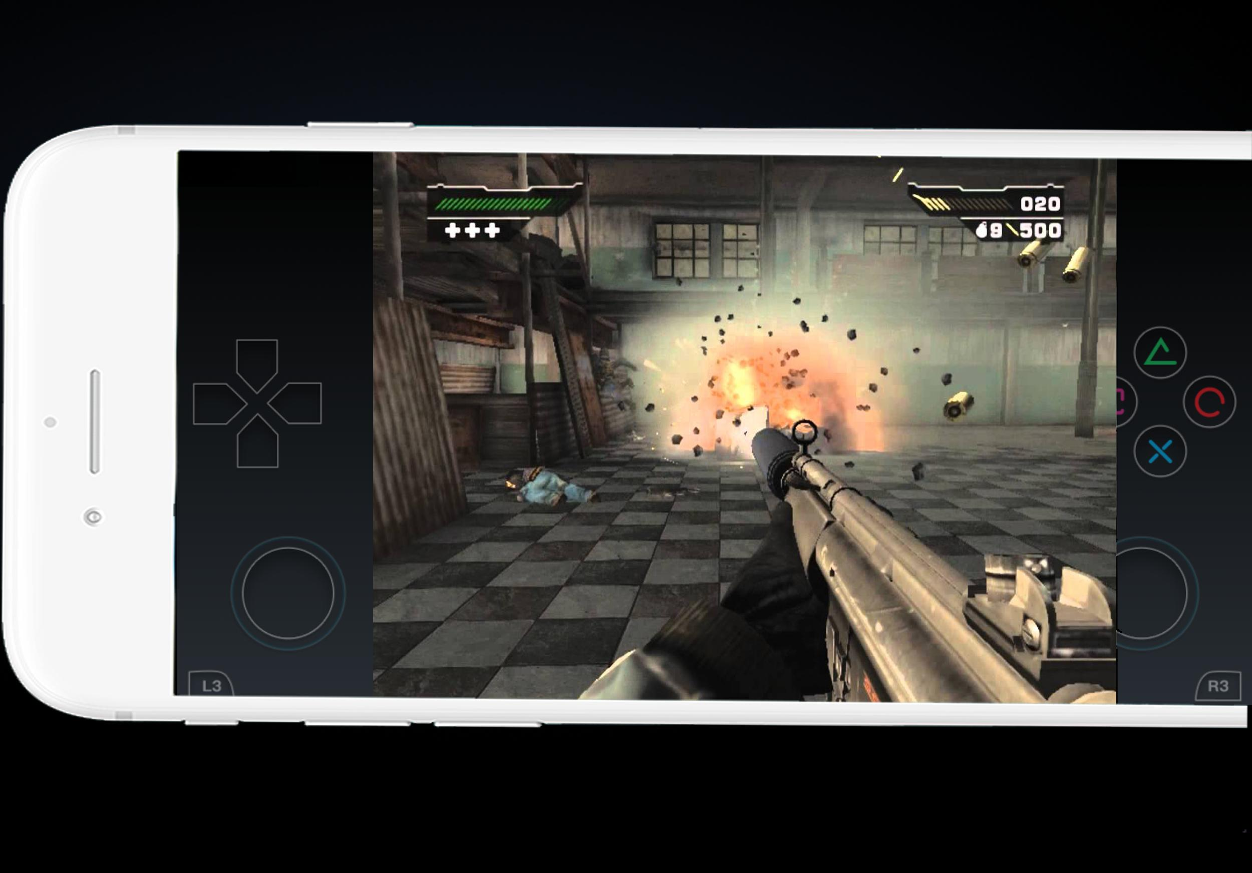 ps2 games for android under 1gb