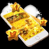 Golden Star Love icon