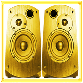 Gold Speaker Booster icon