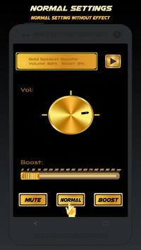 Gold Speaker Booster apk screenshot