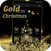 Golden Christmas Diamond icon