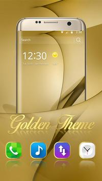 Gold Theme for Galaxy S8 Plus screenshot 3