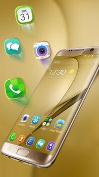 Gold Theme for Galaxy S8 Plus screenshot 2