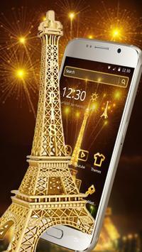 Golden Paris Eiffel Tower screenshot 1