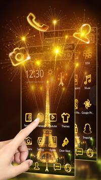 Golden Paris Eiffel Tower screenshot 6