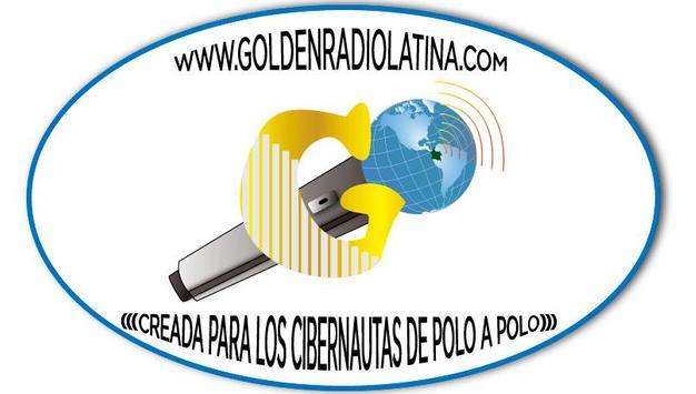 GOLDEN RADIO LATINA Poster