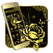 Luxury Gold Rose icon