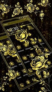 Luxury Gold Rose apk screenshot