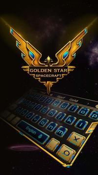 Golden Star spacecraft poster