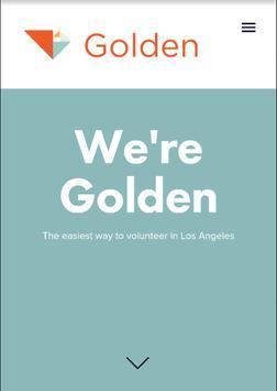 Golden For Volunteers screenshot 1