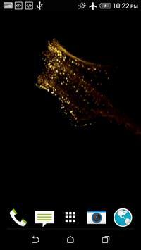Golden Bird 3D Video LWP screenshot 5