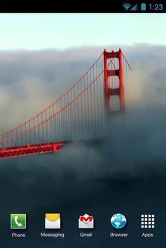 Golden Gate Bridge LiveWP poster