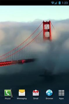 Golden Gate Bridge LiveWP apk screenshot