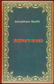 Gullivers travels. J.Swift poster