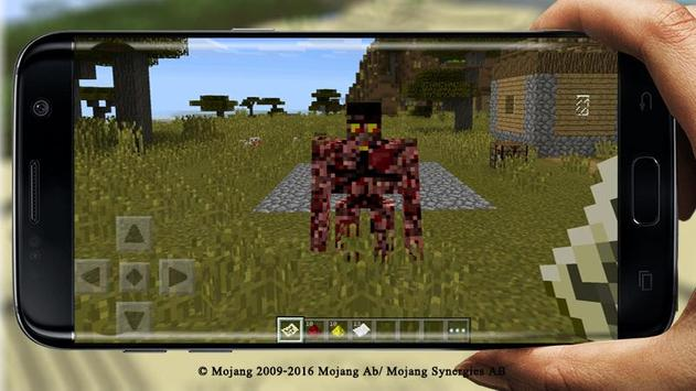 Golem World PE Mod MCPE captura de pantalla 3