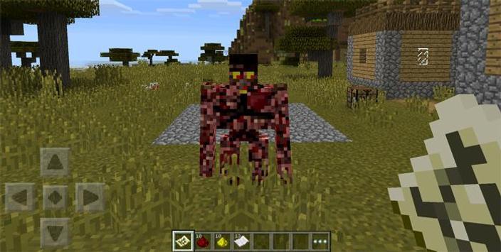 Golems Mod For Minecraft PE apk screenshot