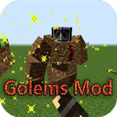 Ai Golems Mod for Minecraft PE icon