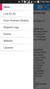Gonai Radio screenshot 19