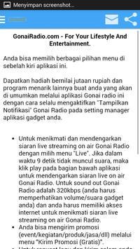 Gonai Radio apk screenshot