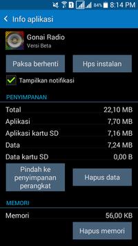 Gonai Radio screenshot 7