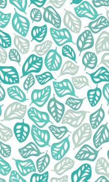 Wiggly Leaf Pattern LWP poster