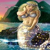 Beautiful Mermaid Live Wallpaper LWP Background icon