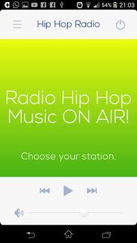 Radio musica Hip Hop captura de pantalla de la apk