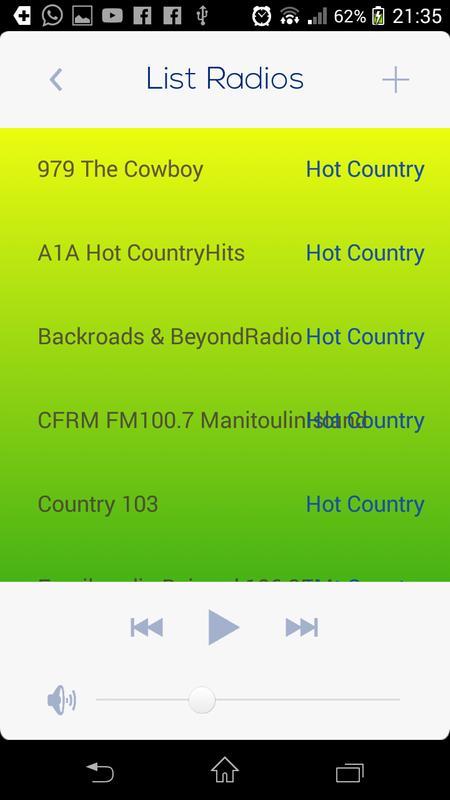 Hot Country Music Radio Screenshot 13