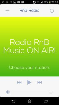 RnB music Radio poster