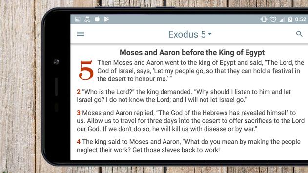 Good News Bible,  audio free version screenshot 9