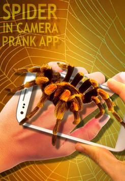 Spider Camera Scary Prank poster