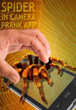 Spider Camera Scary Prank apk screenshot