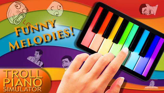 Troll Piano Simulator poster