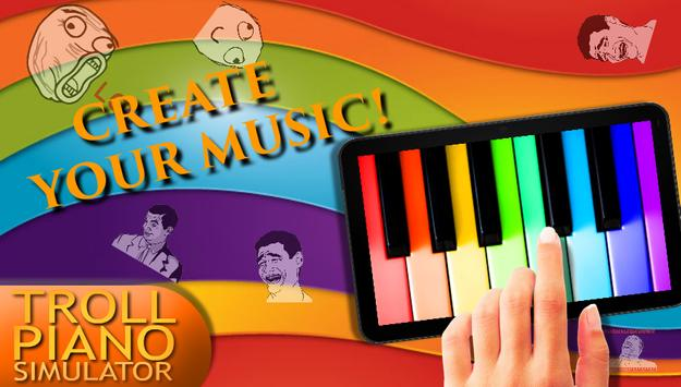 Troll Piano Simulator screenshot 5