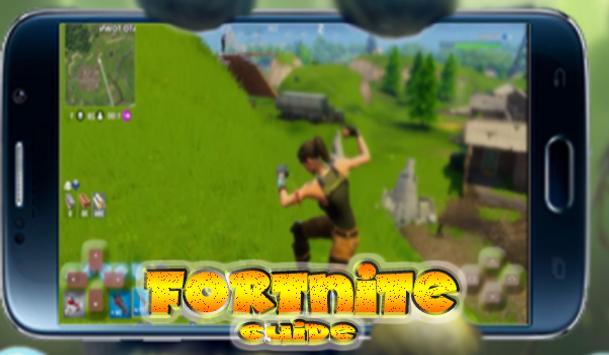 SUPER HINTS battle royale fortnite apk screenshot
