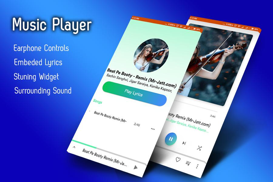 Music Player 2018 : 3D Surround Music Player for Android