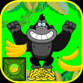 Gorilla Collects Bananas icon