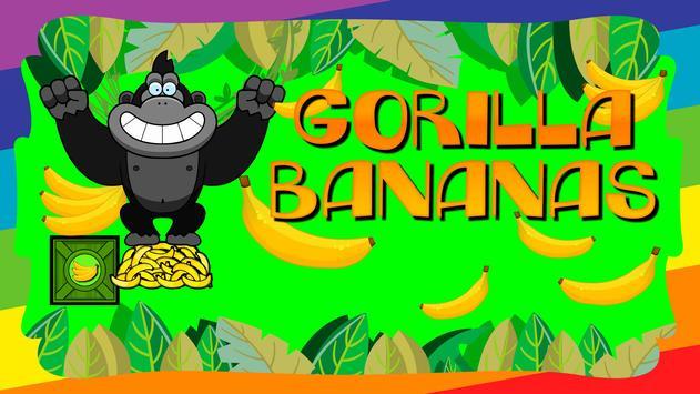 Gorilla Collects Bananas poster