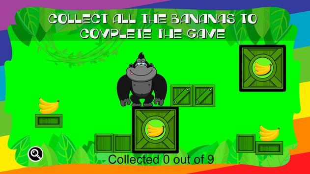 Gorilla Collects Bananas apk screenshot