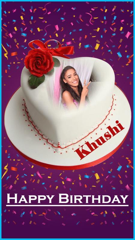 Name Photo On Birthday Cake Pour Android Telechargez L Apk