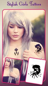 Tattoo For Girls - Girls Tattoo Maker screenshot 5