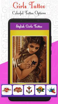 Tattoo For Girls - Girls Tattoo Maker screenshot 2