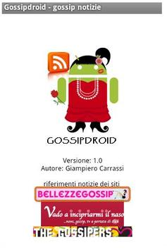 Gossipdroid - gossip news apk screenshot