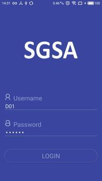 SGH Driver App poster