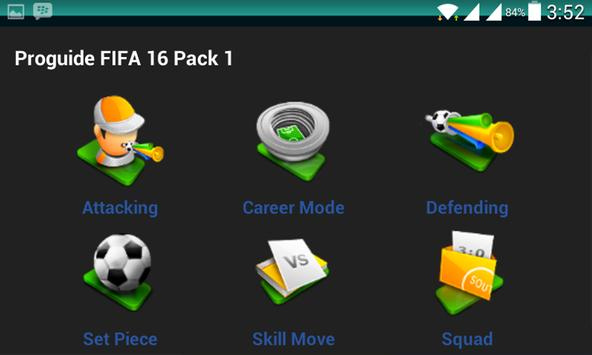 Proguide FIFA 16 apk screenshot
