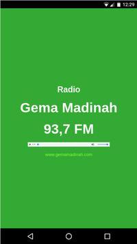 Radio Gema Madinah poster