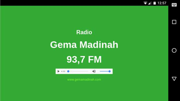Radio Gema Madinah apk screenshot