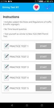 New York DMV Permit Practice Test 2018 screenshot 4